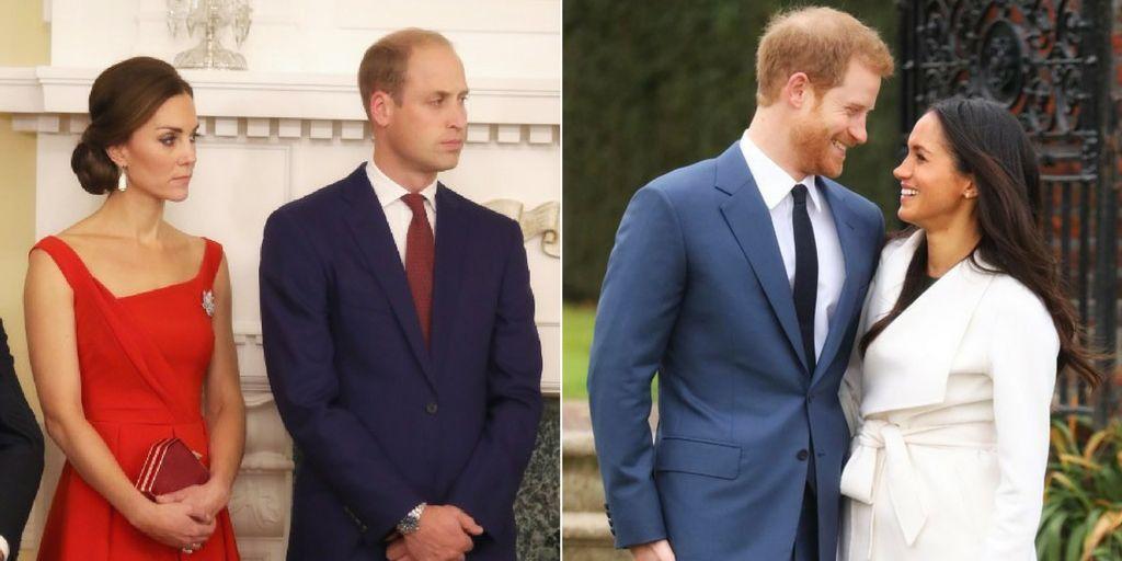15 Pics Of Meghan Markle Versus Kate Middleton Babygaga
